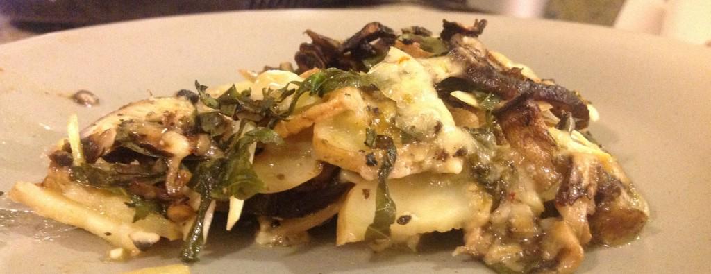 Mushroom Potato Cheese Bake - 3 - Vegetarian Dude