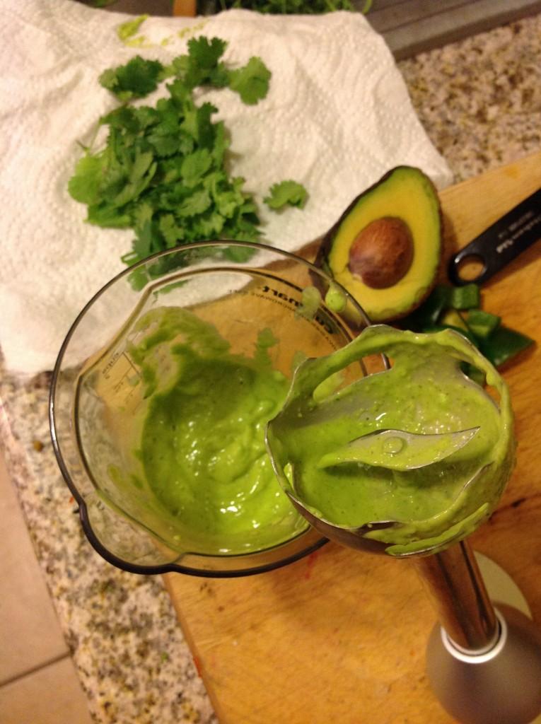 cilantro avocado dressing