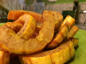 Ginger Cinammon Delicata Squash – Vegan Thanksgiving Recipes