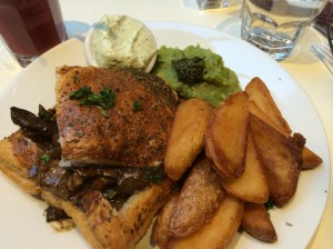 An American Vegetarian In Europe Part 2: Markets, Dosas and Mildred's