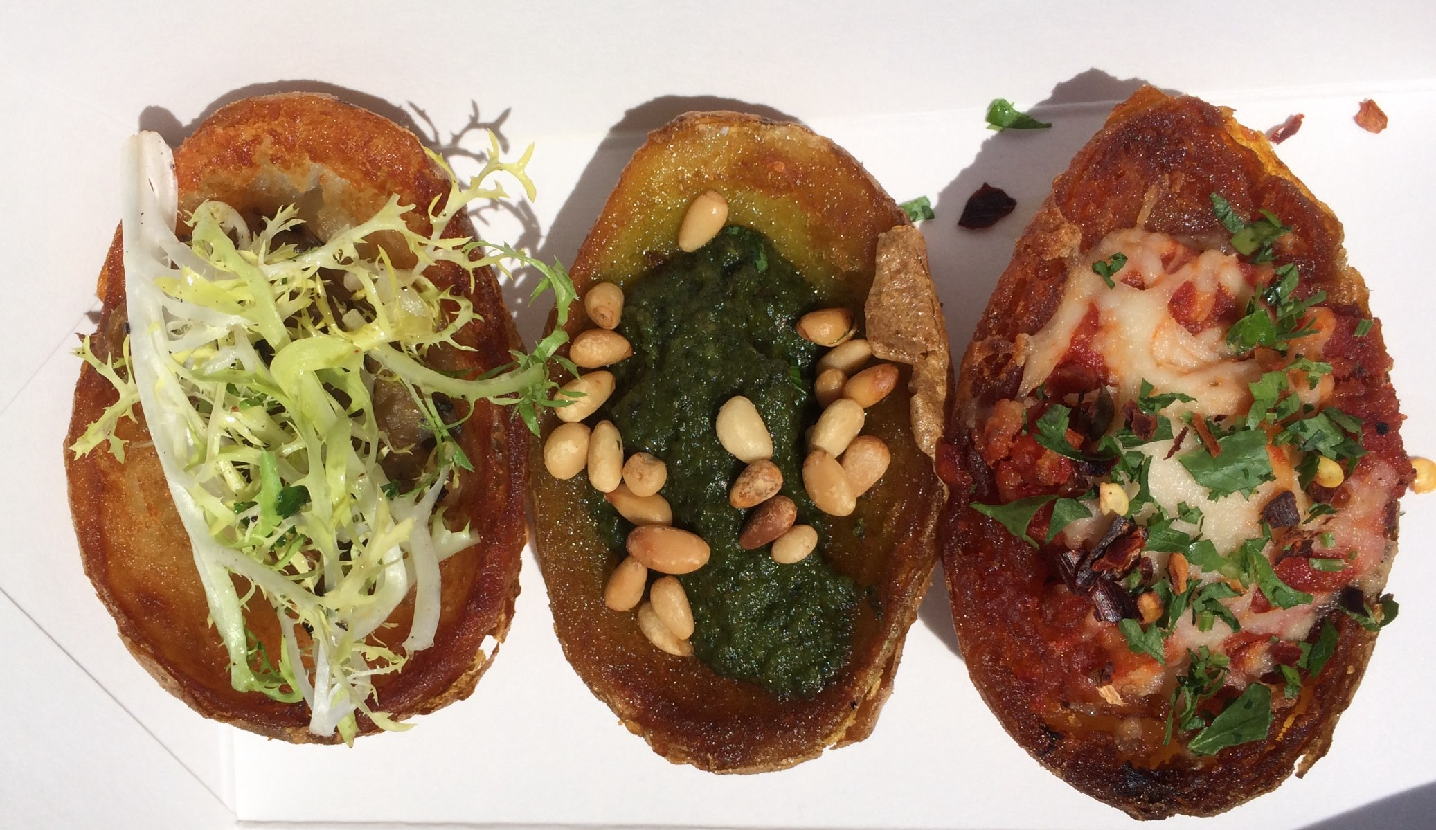 Vegan Potato Skins from Crossroads