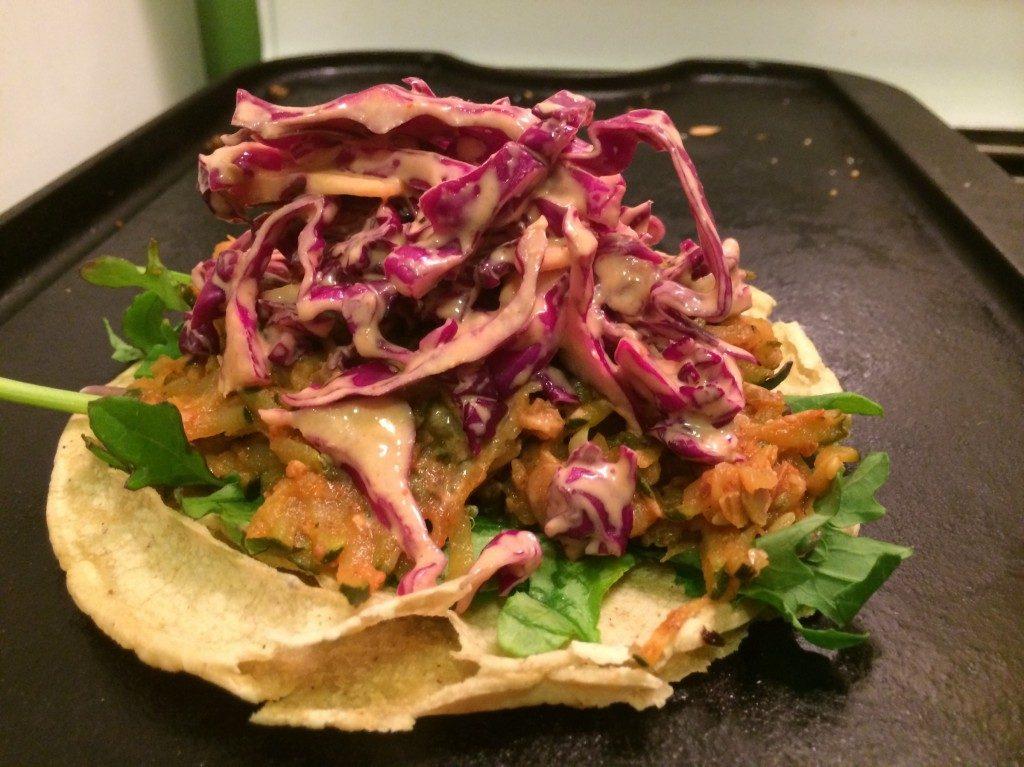 veggie tacos complete
