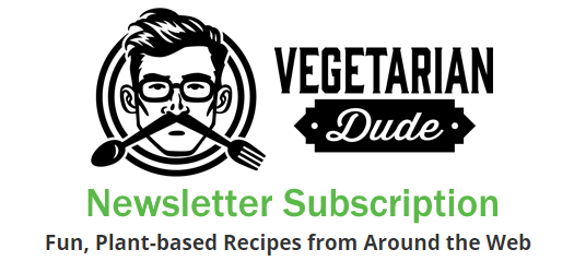 Vegetarian Dude Newsletter Subscription