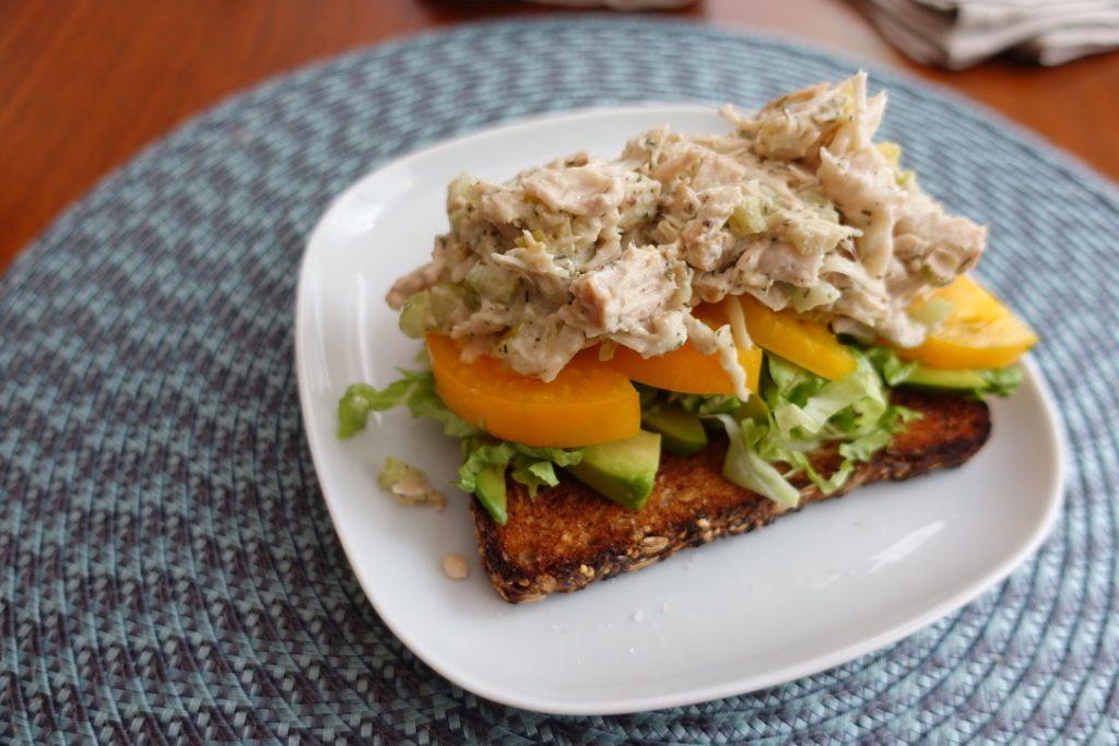 Jackfruit Vegan Tuna Salad Sandwich