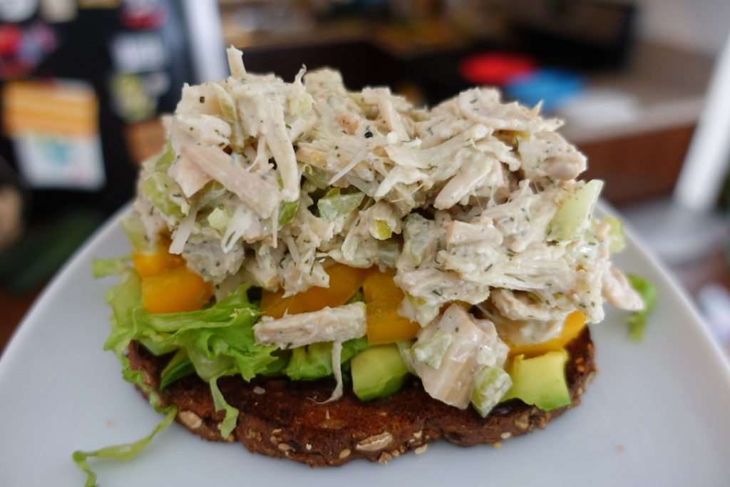 Jackfruit Vegan Tuna Salad Sandwich